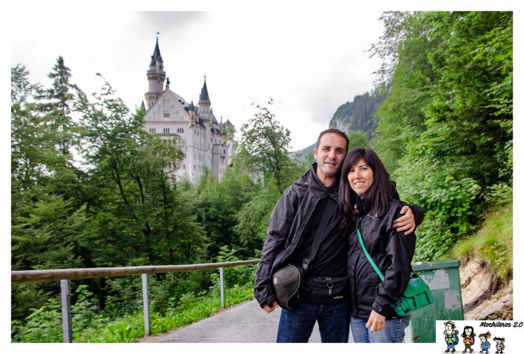 Ruta entre el puente y el castillo