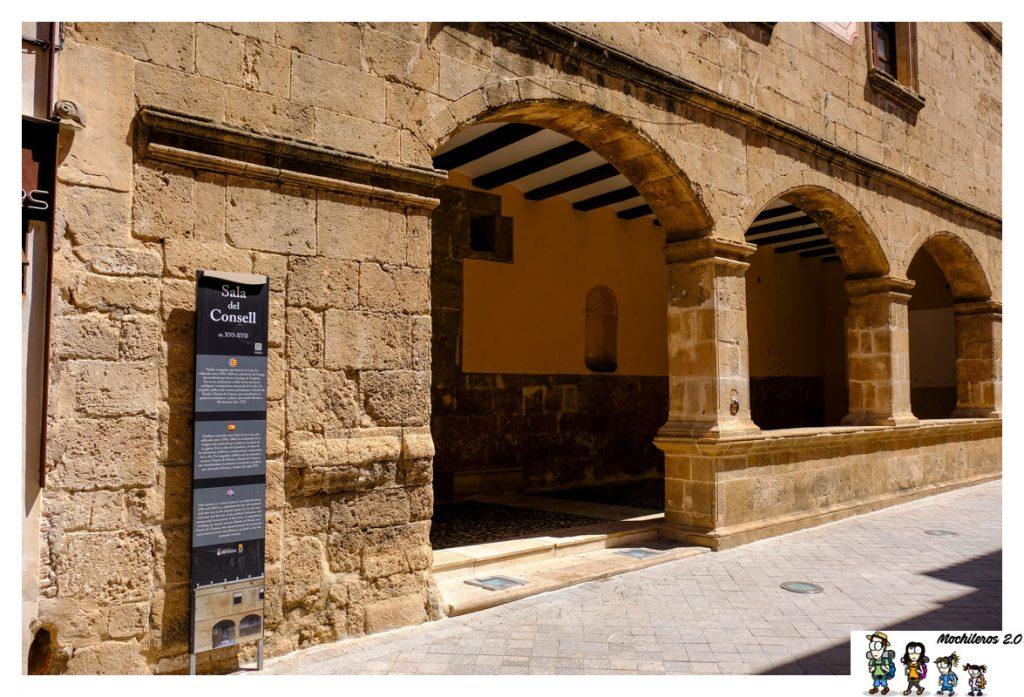 Arcos de la Casa del Consell de Benissa
