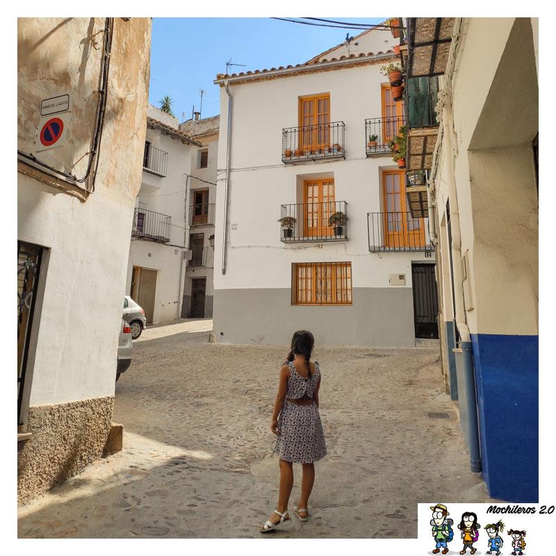 Callejuela del centro histórico de Onda