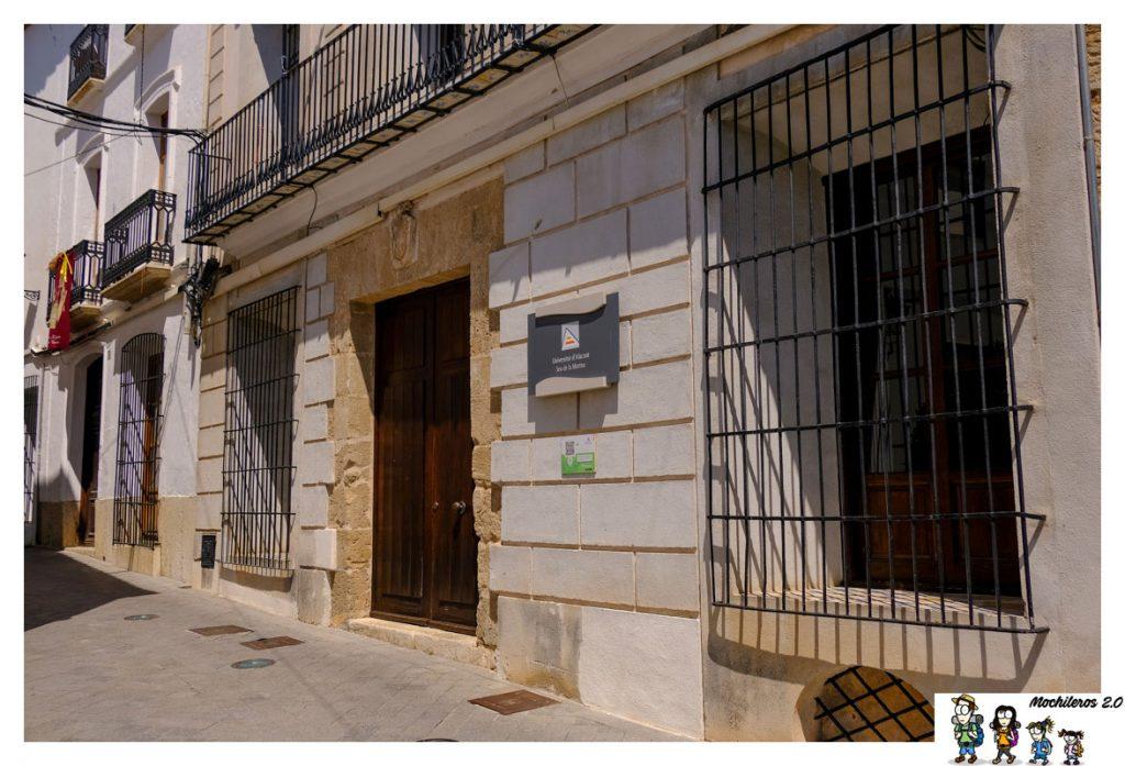 Edificio de la Sede de la Universidad