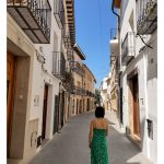 Recorriendo el centro histórico de Benissa