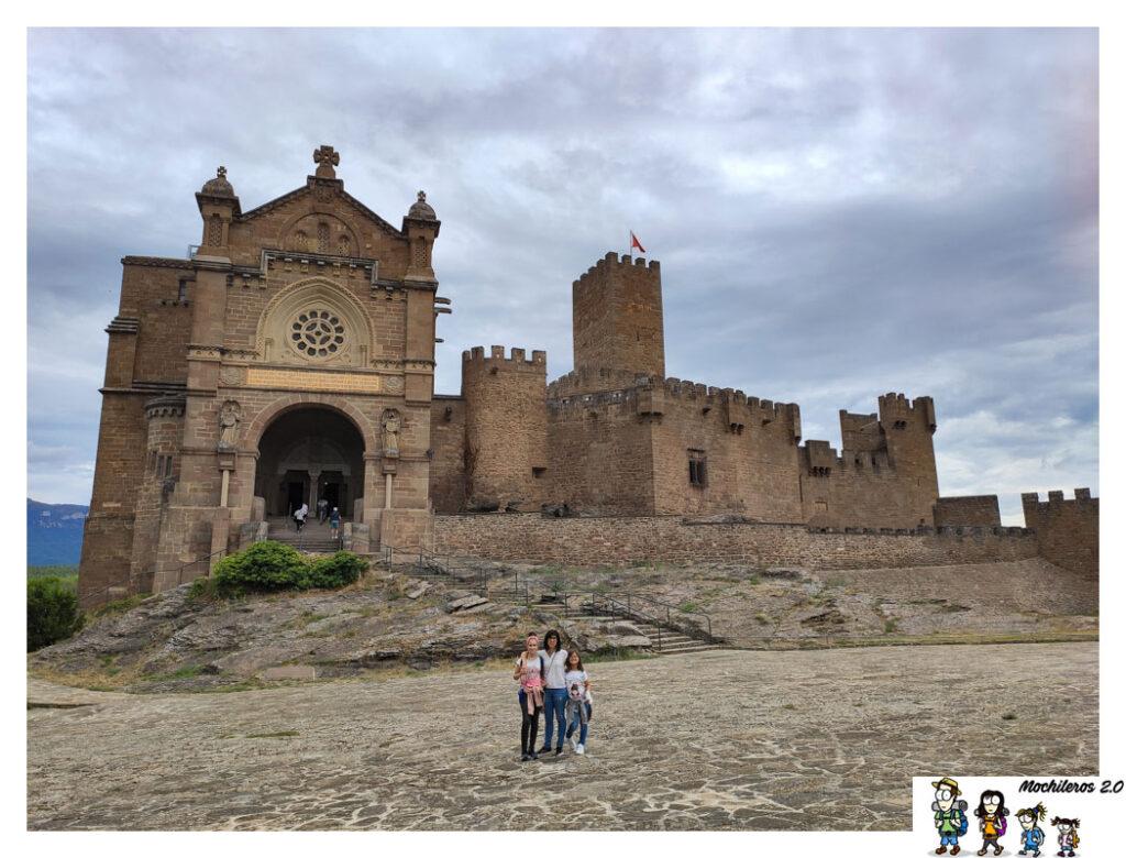 castillo javier navarra