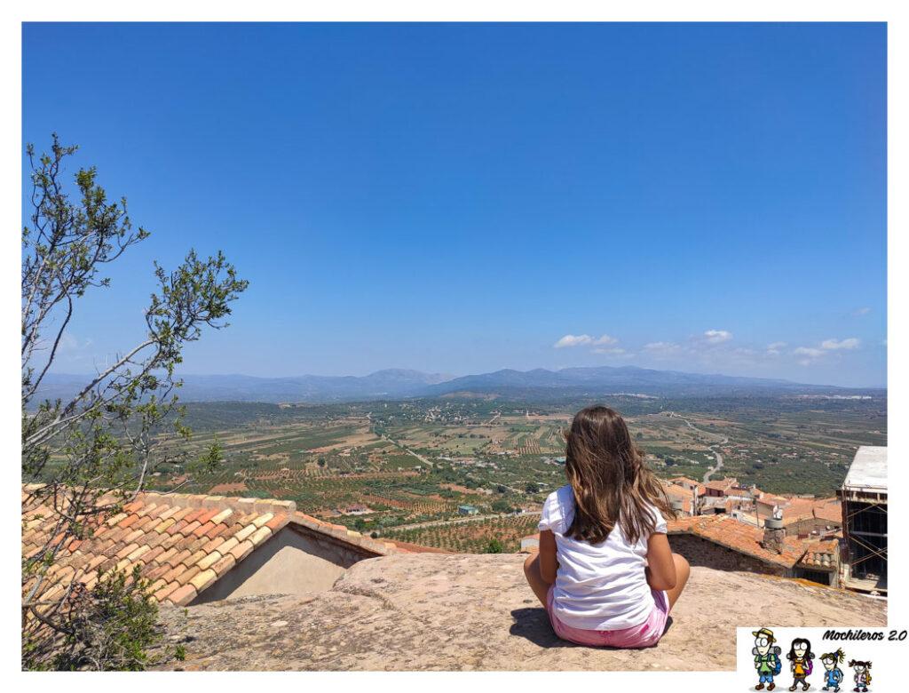 vistas castillo vilafames