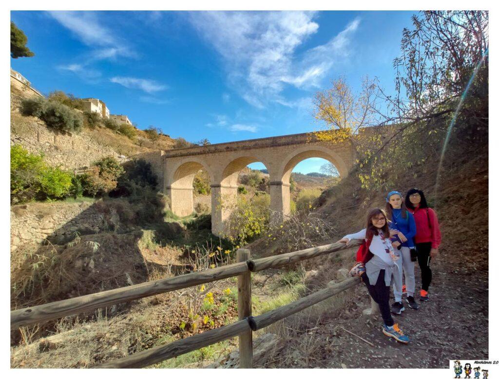 Uno de los puentes durante la ruta del Agua de Sella