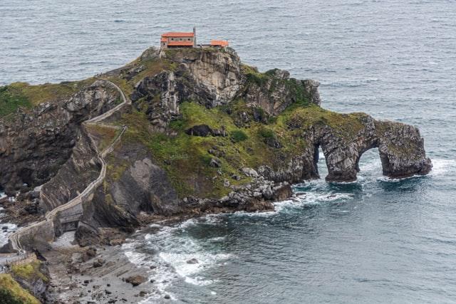 El islote de San Juan Gaztelugatxe