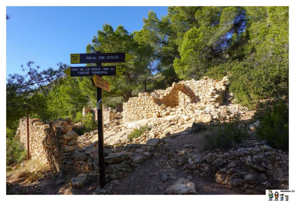 Ruinas del Corralet d`Oltà