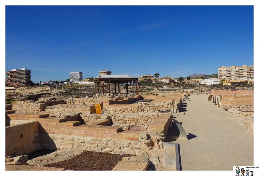 Restos edificaciones de la época romana