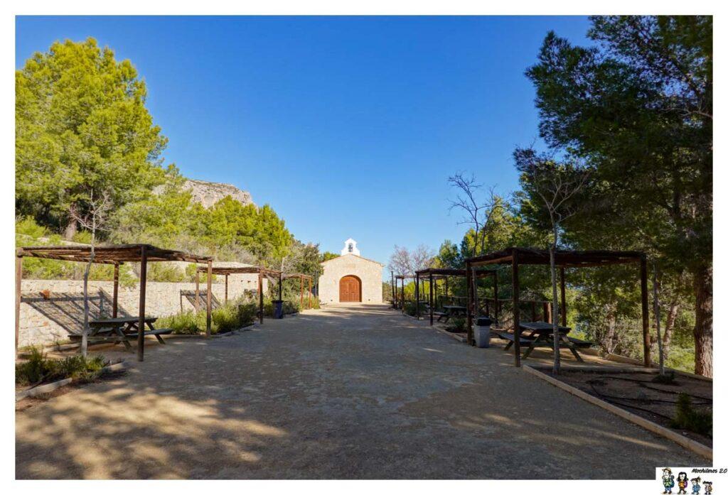 Área de picnic junto a la Ermita Vella, Calpe