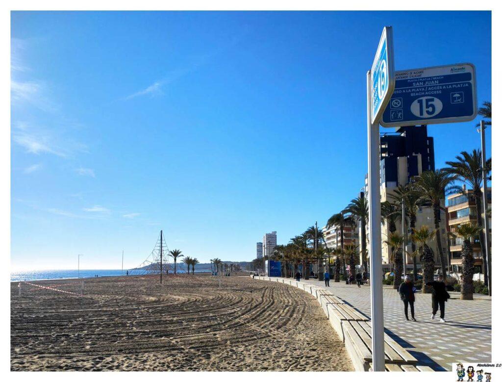 Paseo y acceso a la playa