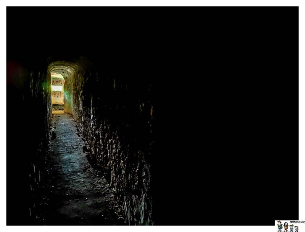 Pasillo acceso al Búnker