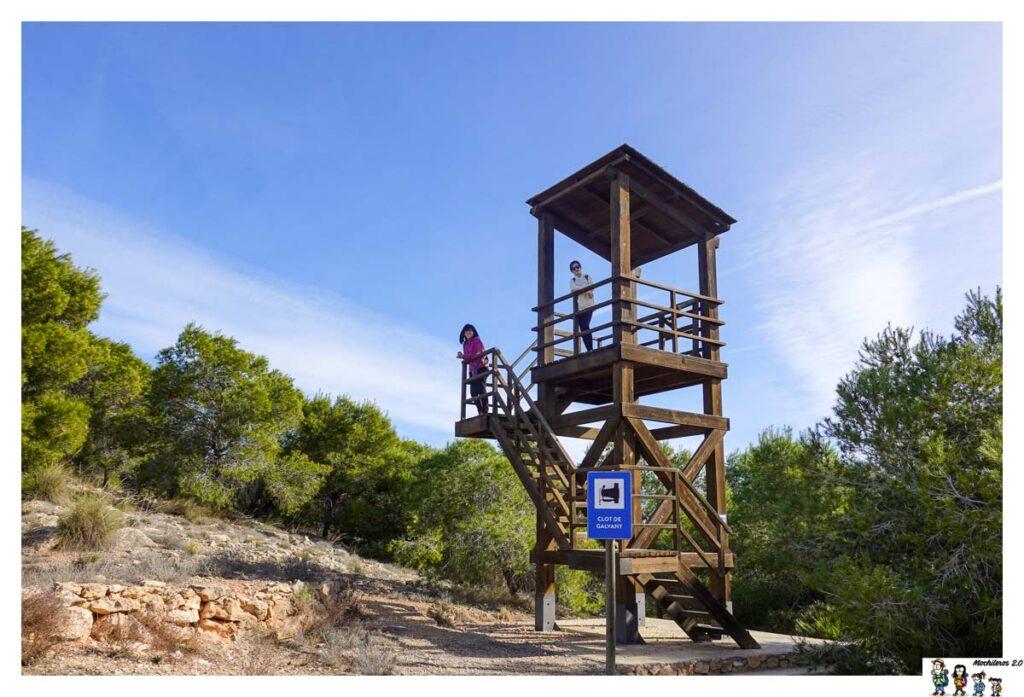 Torre mirador Clot de Galvany