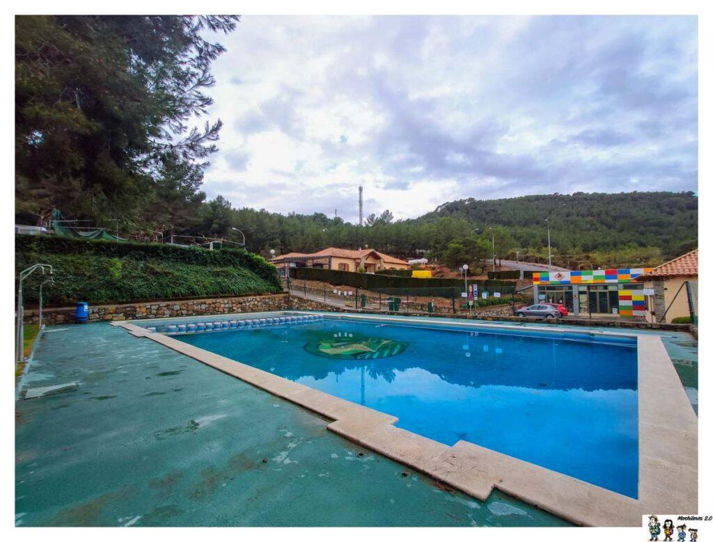 La piscina del Camping Altomira