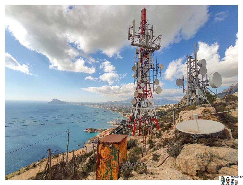 Las antenas del Monte Toix