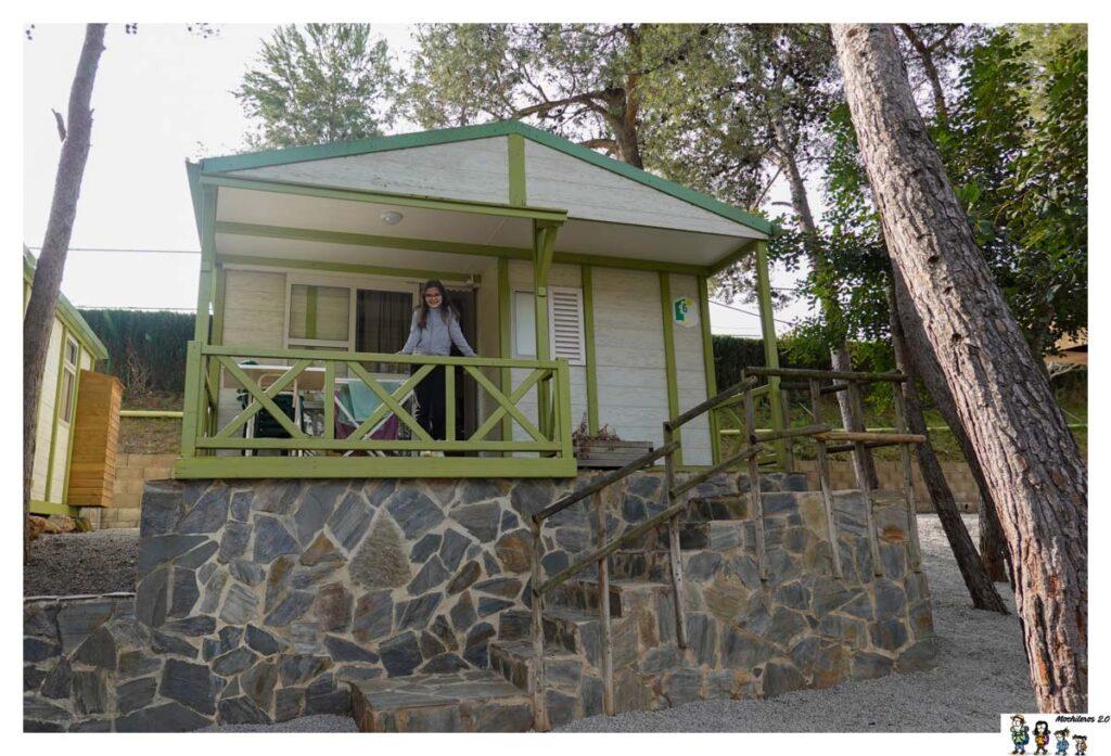 Terraza del bungalow