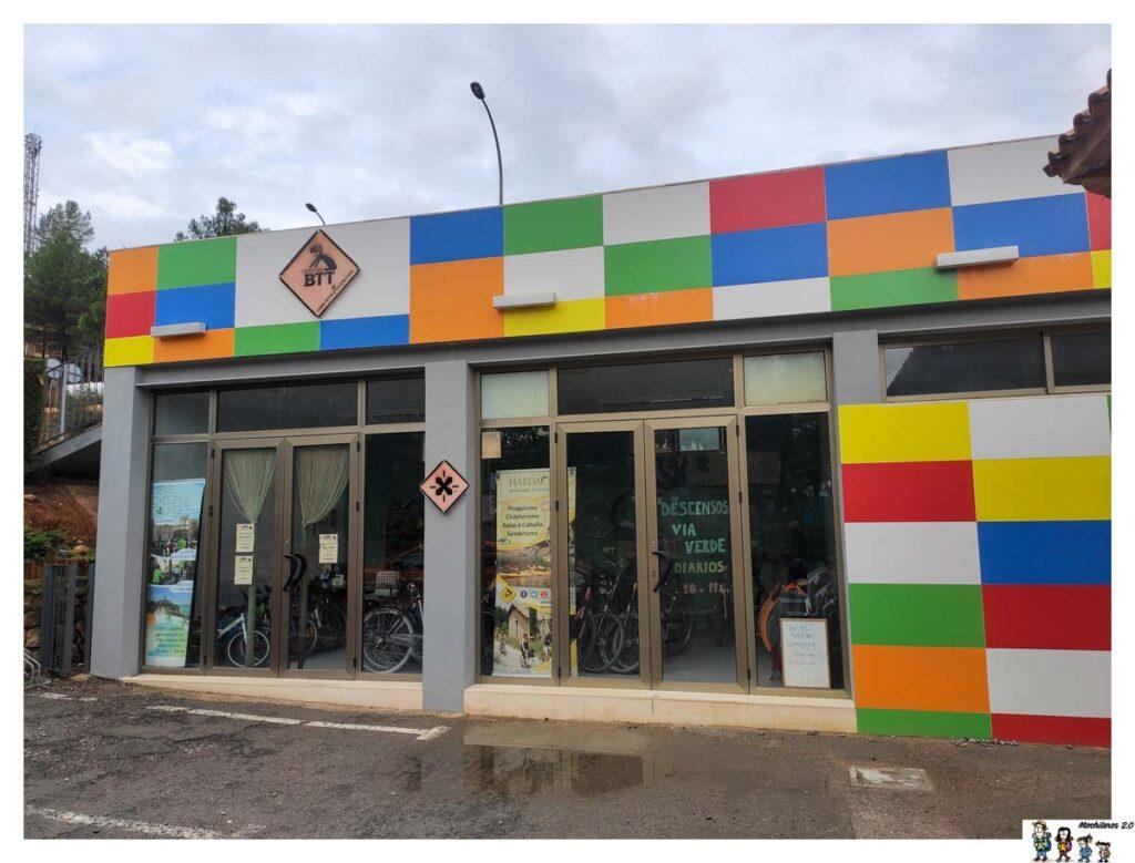 Instalaciones del Centro BTT Altomira