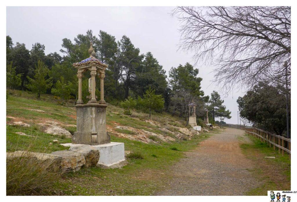 Camino de la romería a la Cueva Santa