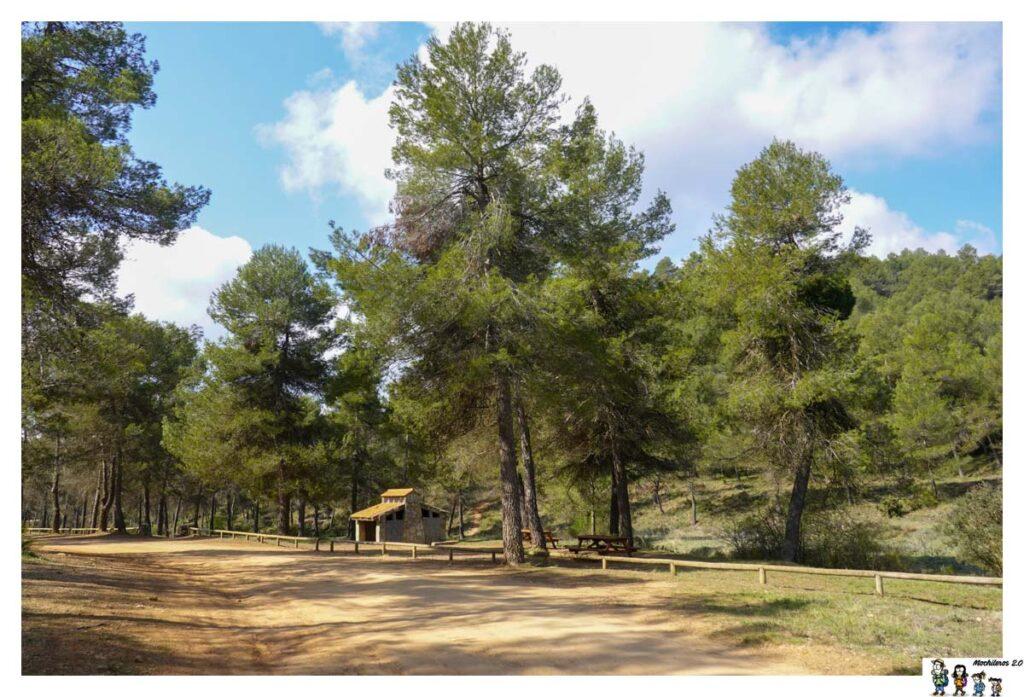 Zona picnic, Área recreativa Font de Mariola