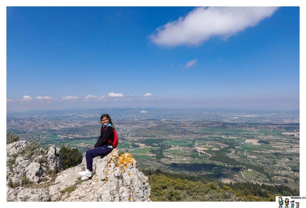 Vistas desde la cresta de Mariola