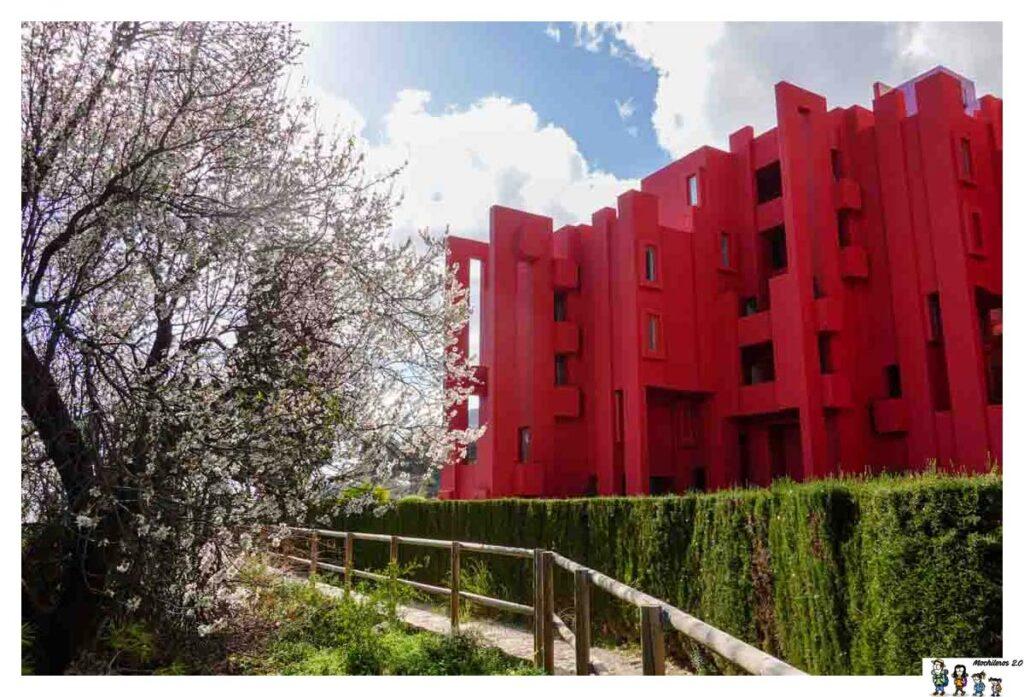 Edificio de la Muralla Roja, Calpe