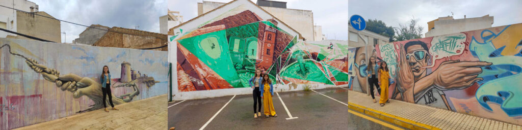 Murales de Street Art en el Pilar de la Horadada
