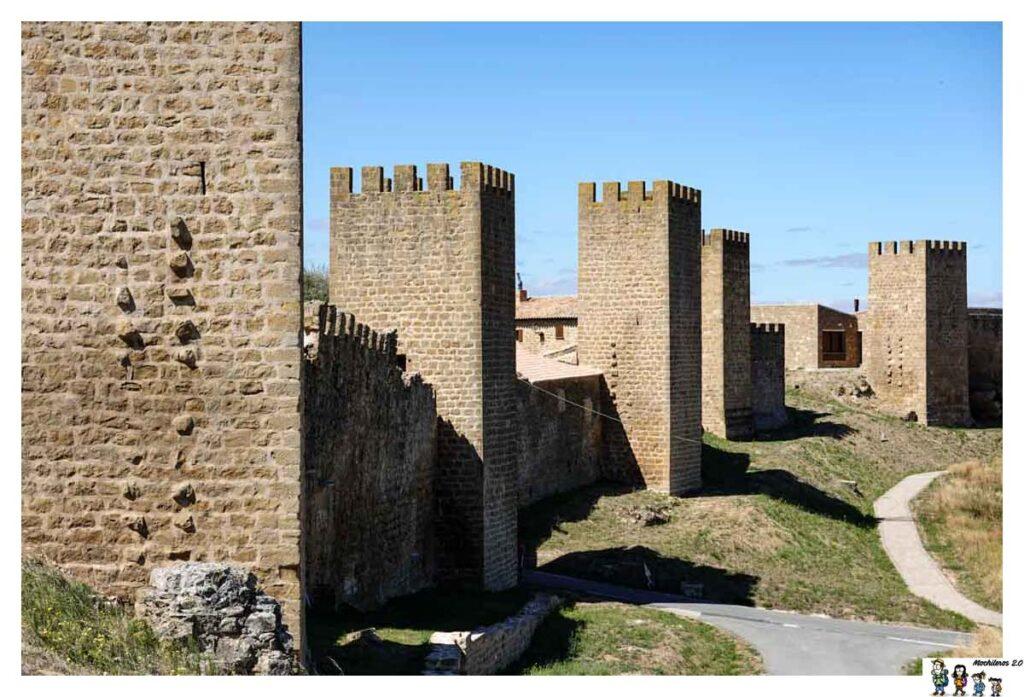 Detalle de la muralla del cerco