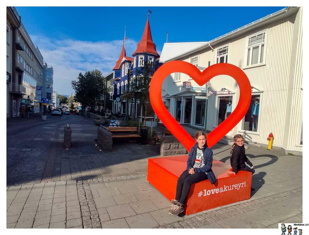 Akureyri, la capital del norte