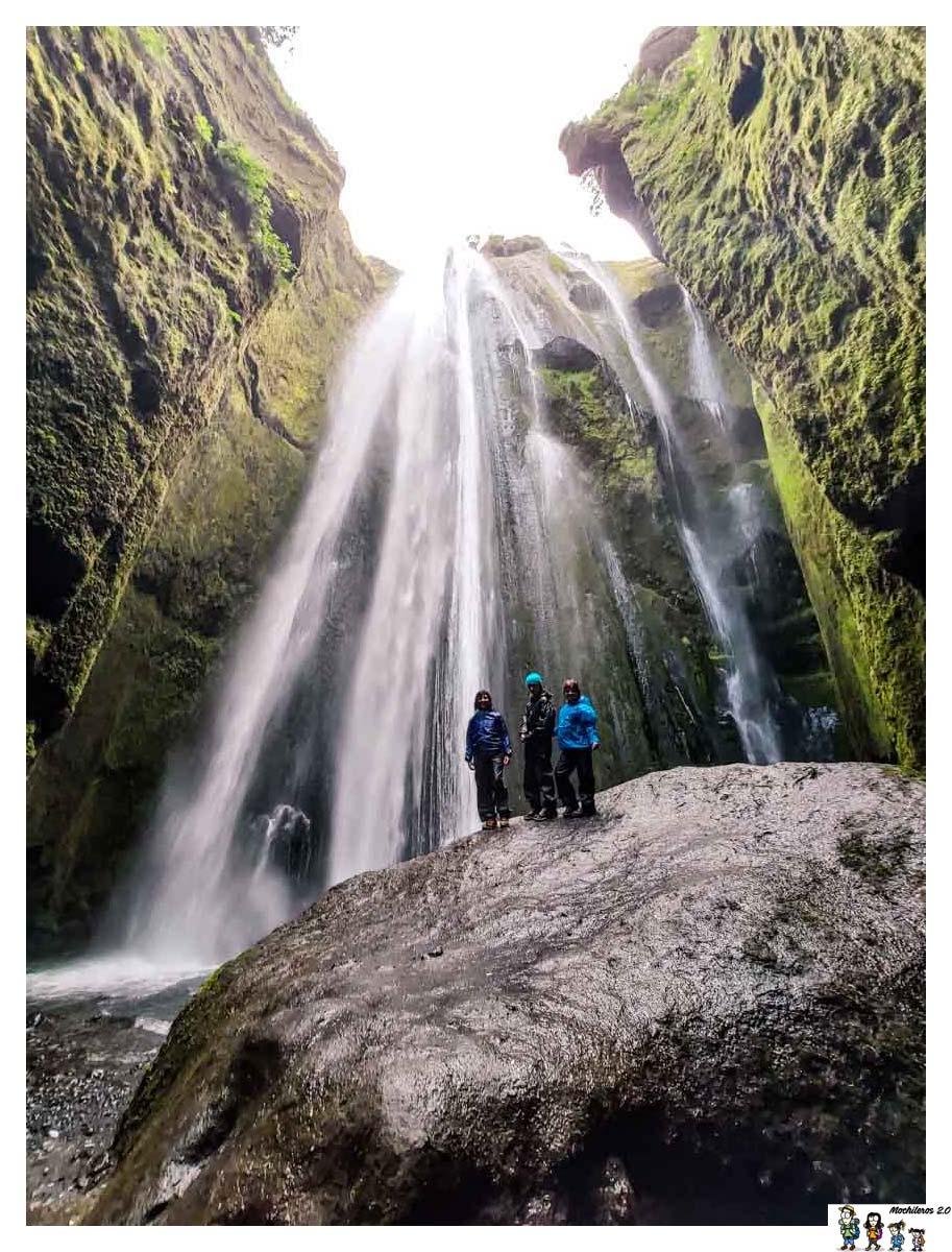 La cascada escondida, Gljufrafoss