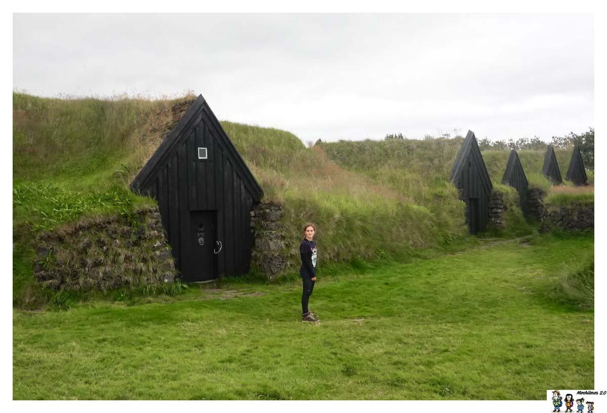 Casas de la Aldea Vikinga Keldur