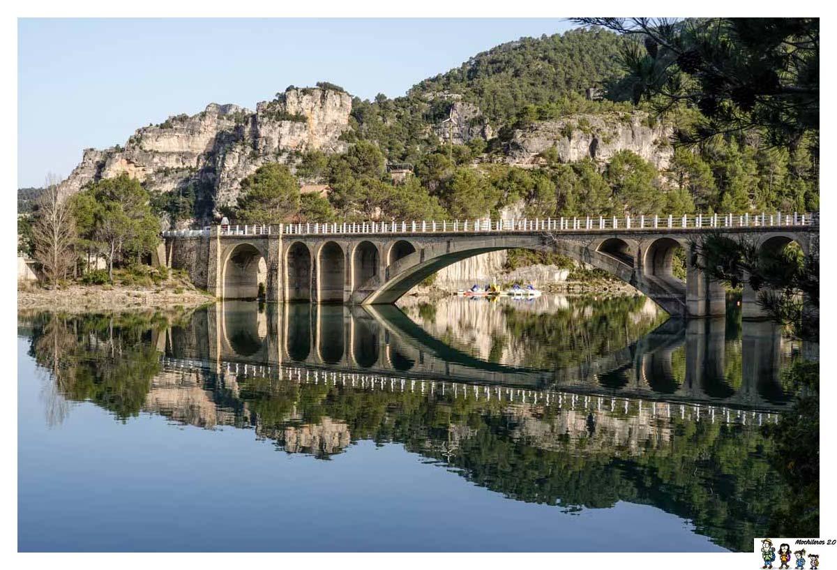 Puente sobre el pantano de Ulldecona