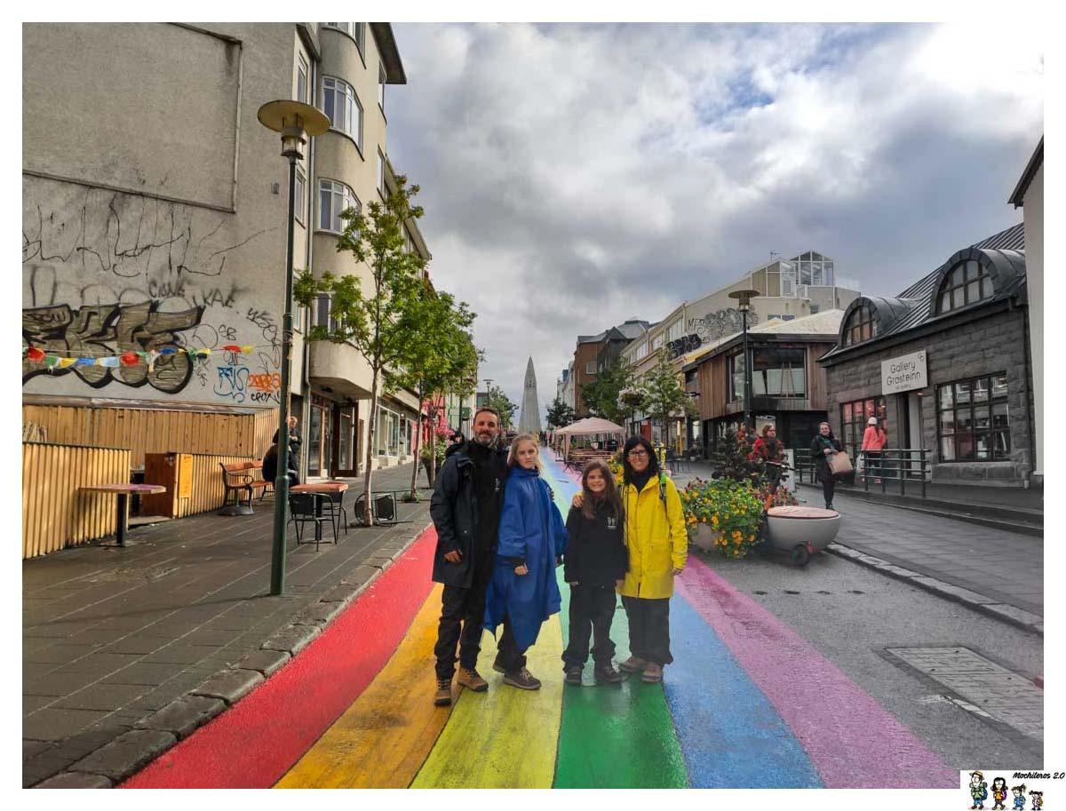 Color en Reykjavik