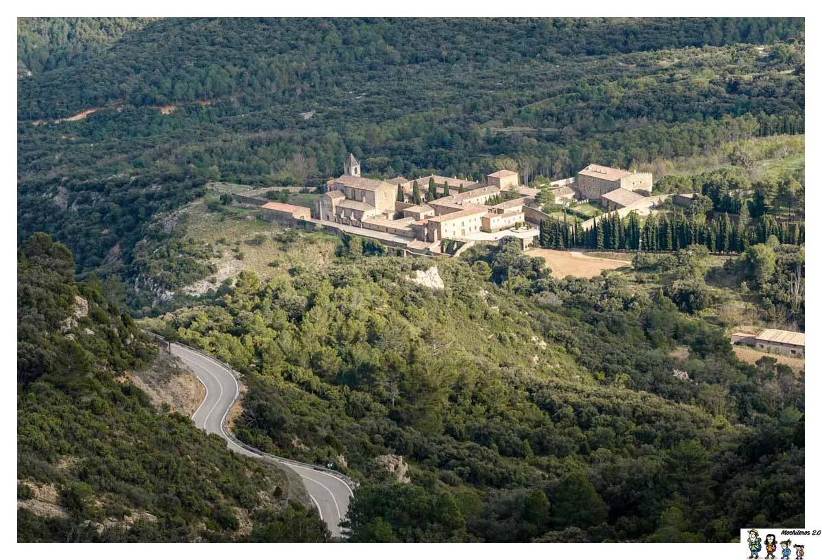 Vista de Santa María de Benifassà