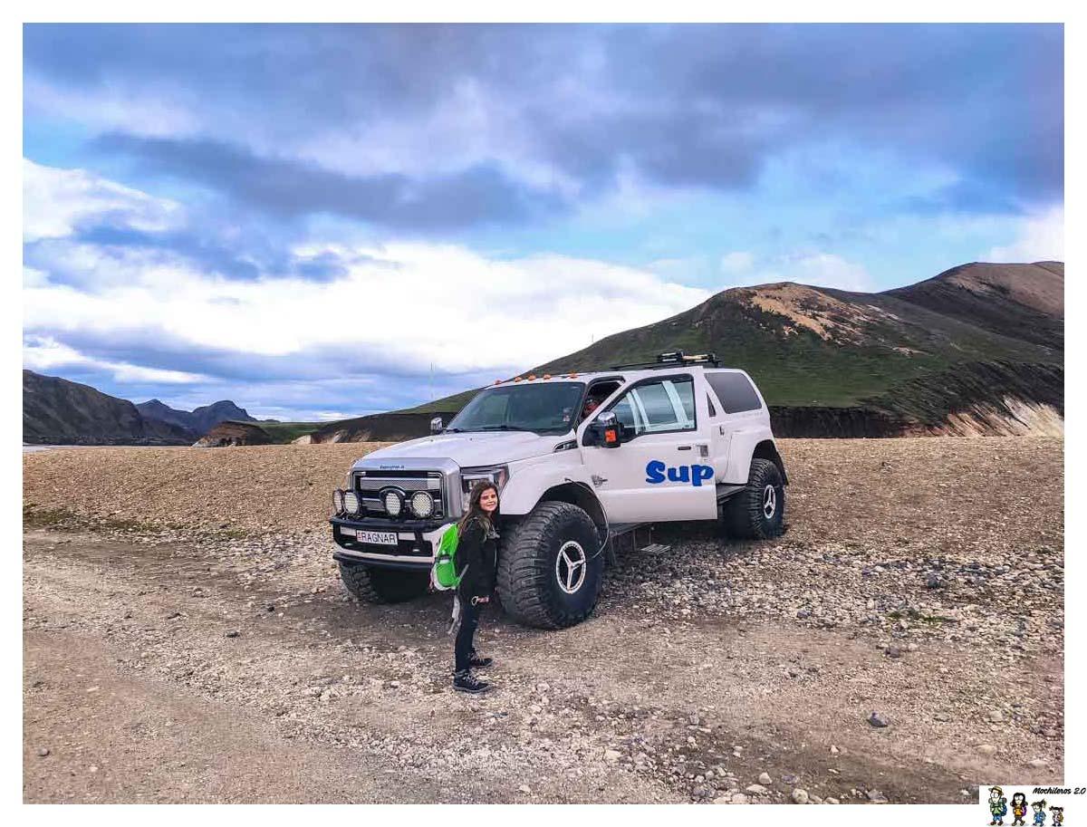 Super Jeep en las Tierras Altas