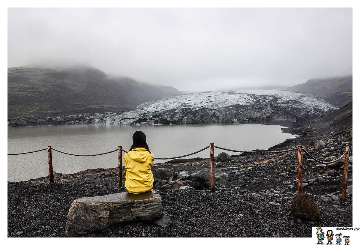 Trekking en glaciar en Islandia