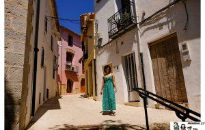 Una de las calles del casco antiguo de Benissa