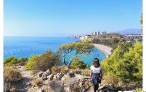 Vistas de la playa del Torres desde el sendero